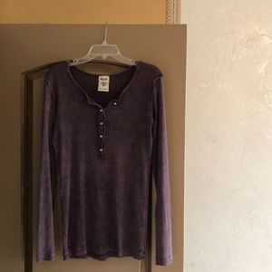 Nwot vocal long sleeve top